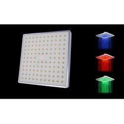 vidaXL Kwadratowa g?owica prysznicowa LED 3 kolory Darmowa wysy?ka i zwroty
