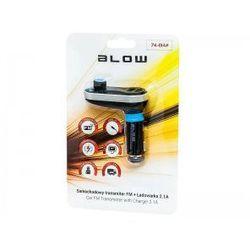 BLOW Transmiter FM 1,4' LCD 2xUSB 2,1A