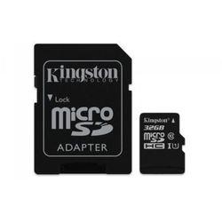Kingston microSD 32GB Class 10 Gen2 1-adapter DARMOWA DOSTAWA DO 400 SALONÓW !!