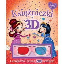 Księżniczki w 3D Książka z okularami