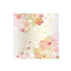 Foto naklejka samoprzylepna 100 x 100 cm - Śliwa japońska Wzór