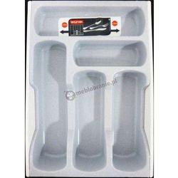 Wkład do szuflady na sztućce CURVER szary