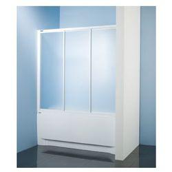 SANPLAST kabina nawannowa Classic 140 wnękowa szkło CR (parawan) DTr-c-W-140 600-013-2421-01-370