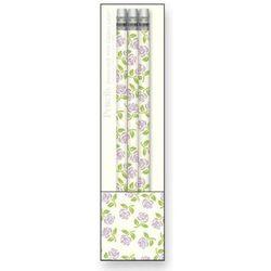Zestaw ołówków drewnianych Rossi 1931 - flowers