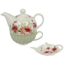 Filizanka z dzbankiem i spodkiem na herbatę Mary Rose