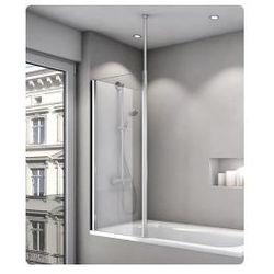 Parawan nawannowy jednoczęściowy SanSwiss FUN 70cm, połysk, szkło przeźroczyste FB2070005007