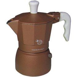 Kawiarka Top Moka Coccinella brązowa - 1 filiżanka