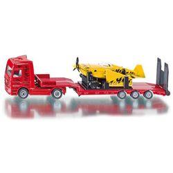 Zabawka SIKU Super Ciężarówka z samolotem sportowym