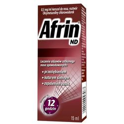 Afrin ND aerozol do nosa 0,5mg/ml 15 ml