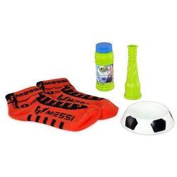 Bańki mydlane Messi FootBubbles Starter Pack pomarańczowy