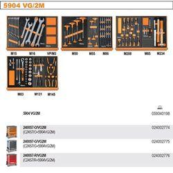 WÓZEK NARZĘDZIOWY 2400/C24S7 Z ZESTAWEM NARZĘDZI, 170 ELEMENTÓW, MODEL 2400S7-R/VG2M, CZERWONY