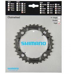 Y1M098050 Tarcza mechanizmu korbowego Shimano FC-M430 32T czarna Alivio