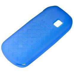 Etui Silikonowe Nokia CC-1026 Niebieskie do 1280, FV23% - Niebieski