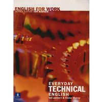 English for Work Everyday Technical English Book with Audio CD (opr. miękka)