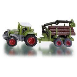 Zabawka SIKU Traktor z Przyczepą do Bali Drzewa 1645