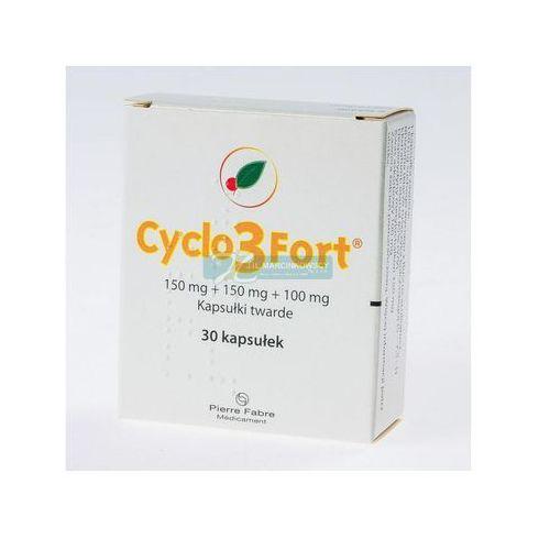 Cyclo 3 Fort 150mg kapsułki twarde 30 sztuk - niweluje opuchnięcie nóg Kurier już od 0 PLN odbiór osobisty: GRATIS!