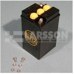 Akumulator retro BLITZ 6V12Ah czarny z pokrywką 1120000 BMW R 51