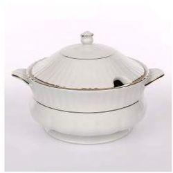 Waza do zupy porcelana Chodzież Iwona Złoty Pasek 2,5l