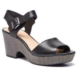 d3fc20d80087 Sandały CLARKS - Maritsa Janna 261401134 Black Leather
