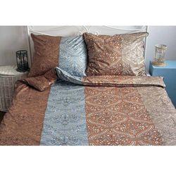 Pościel satynowaNoble Mosaic Blue 100% bawełny