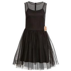 9a8834d34f suknie sukienki rose rozowa pudrowa koronkowa trapezowa sukienka (od ...
