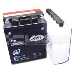 Akumulator bezobsługowy JMT YTX14AH-BS (WPX14AH-BS) 1100453 Yamaha YFM 350, Arctic Cat Cat 500,