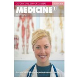 Oxford English for Careers: Medicine 1 Student's Book (opr. miękka)