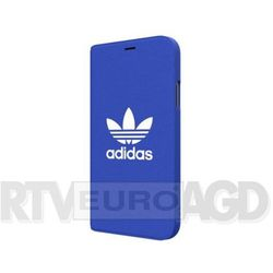 Adidas Booklet Case Adicolor SS18 iPhone X (niebieski)