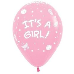 Balony sempertex it's a girl 12'' 12 szt