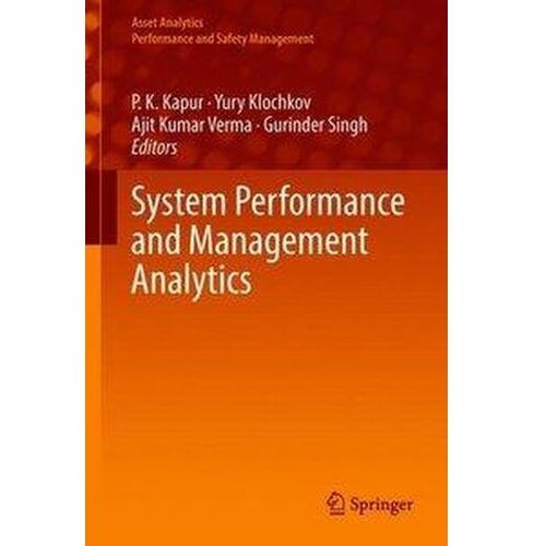 System Performance and Management Analytics Kapur, P. K.