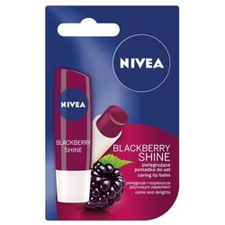 Nivea, Lip Care. Pomadka ochronna, Blackberry Shine, 4,8g - Nivea