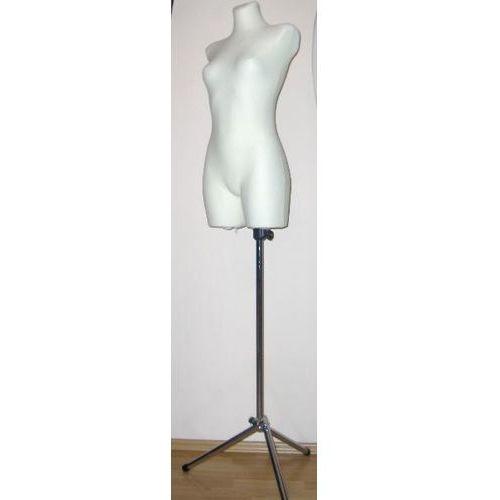 Fantastyczny Manekin krawiecki - tors kobiecy długi ecru - rozmiar 38/40 na NU43