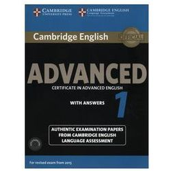 Cambridge English Advanced 1. Podręcznik z Kluczem + CD (opr. miękka)