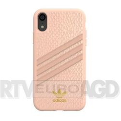 Adidas Moulded Case PU Snake iPhone Xr (różowy)