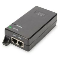 Digitus Zasilacz/Adapter PoE + 802.3at, max. 48V 30W Gigabit 10/100/1000Mbps, aktywny