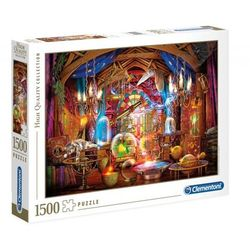 Puzzle High Quality Collection 1500: Wizards Workshop (31813)